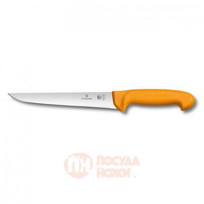 Нож жиловочный с прямым лезвием 18 см VICTORINOX \ 5.8411.18