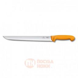Нож для отбивной и стейка VICTORINOX Swibo с прямым лезвием 31 см \ 5.8433.31