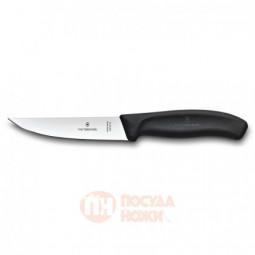 Нож разделочный VICTORINOX SwissClassic с узким прямым лезвием 12 см чёрный \ 6.8103.12B