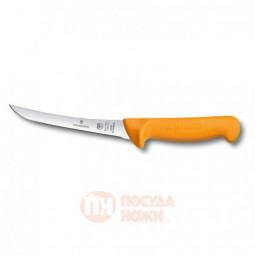 Нож обвалочный с изогнутым узким полугибким лезвием 16 см VICTORINOX \ 5.8404.16