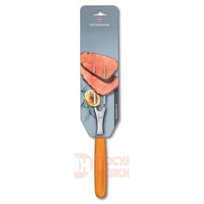 Вилка разделочная 15 см VICTORINOX оранжевая \ 5.2106.15L9B