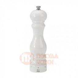 Мельница для соли 22 см белая лакированная Paris Laque Blanc Peugeot \ 27834