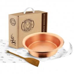 Набор для варки варенья: лопатка, таз для варенья 4,5 литра Кольчугино \ С97208_ЛП