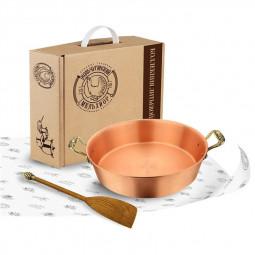"""Набор для варки варенья """"Малина"""": лопатка, таз для варенья 4,5 литра Кольчугино \ КМ4760201"""